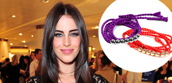 Jessica Lowndes Shares Bracelets that Fight Cancer and MS