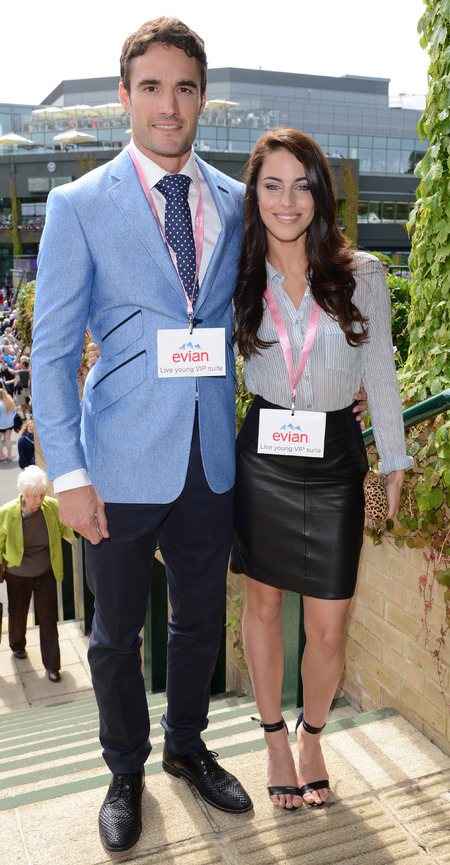 WIMBLEDON: Game, set and match fashion for Jessica Lowndes & Thom Evans