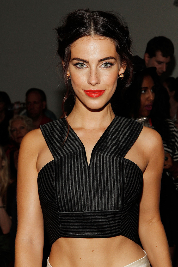 Jessica Lowndes at the Houghton Fashion Show - NYFW 2014