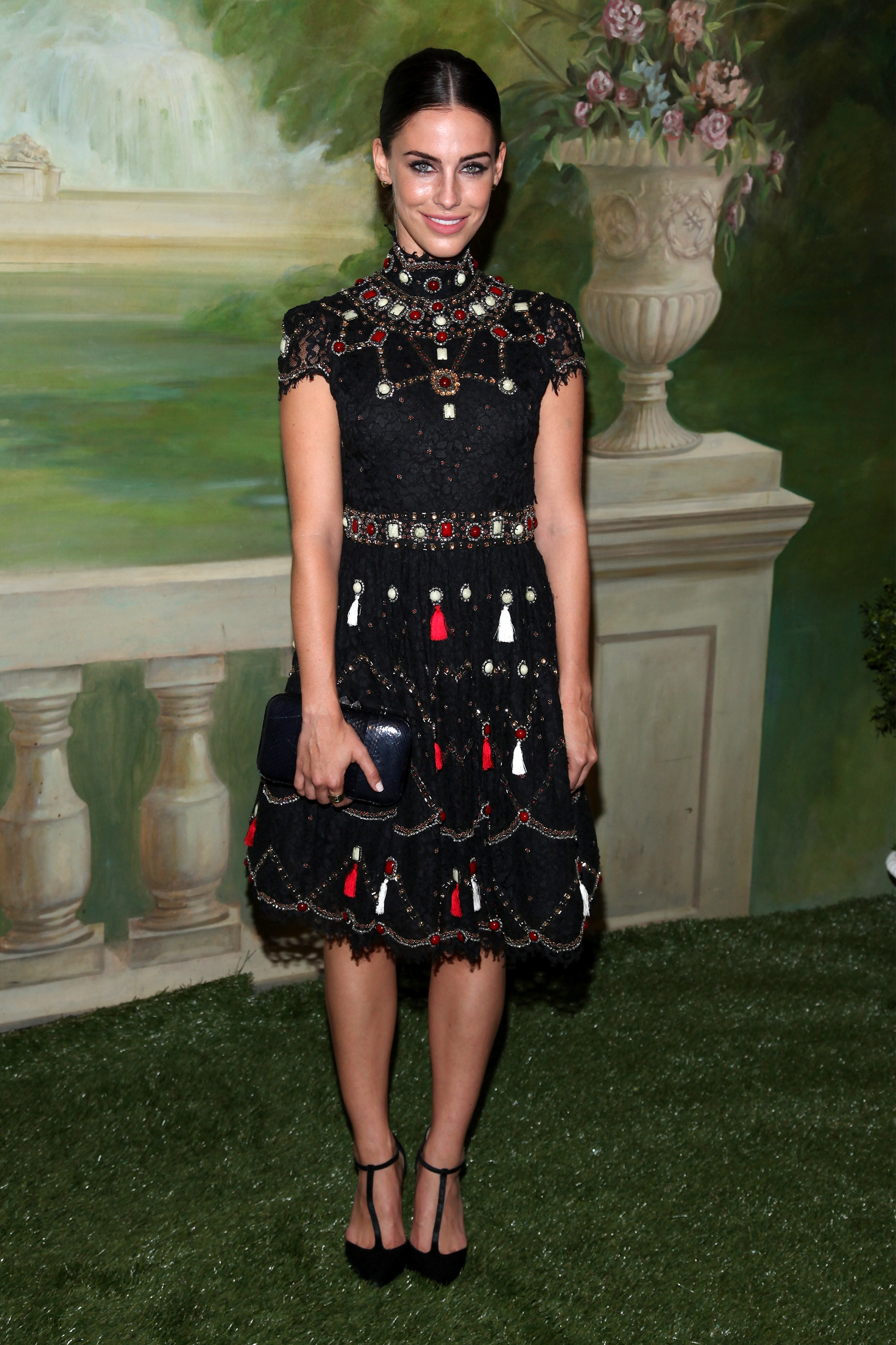 Jessica Lowndes at the Alice + Olivia Fashion Show - NYFW 2014