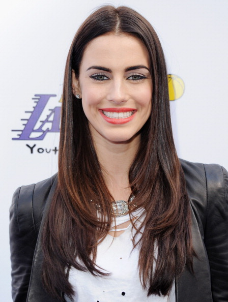 Jessica Lowndes at the Lakers Casino Night