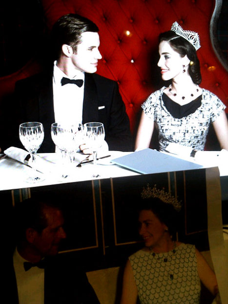 90210's Jessica Lowndes, Matt Lanter Recreate Famous Queen Elizabeth Portrait