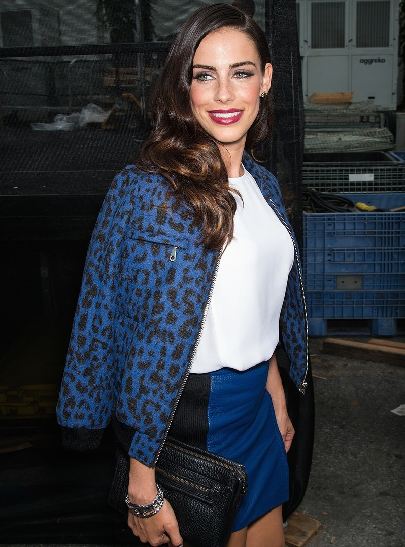 Jessica Lowndes at the Rebecca Minkoff Fashion Show - NYFW 2014